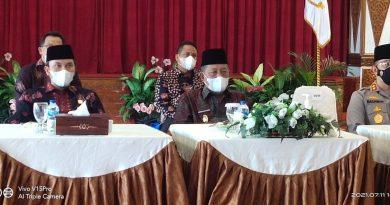 Abdullah Sani Ikuti Pray From Home Secara Virtual Dengarkan Arahan Presiden RI
