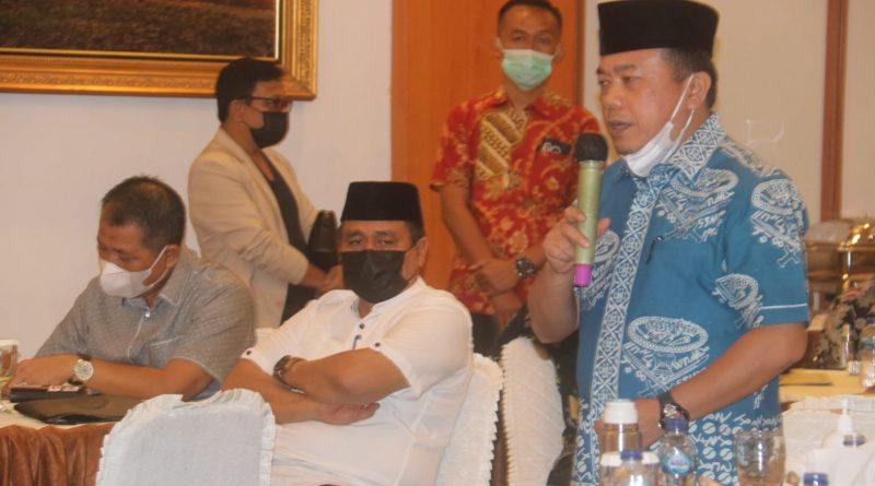 Percepat Pembangunan, Gubernur Jambi Kumpulkan Pihak Balai
